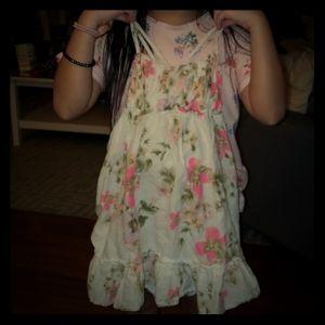 Pretty Girl's Floral dress